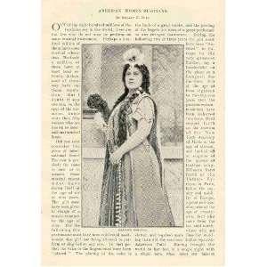 1901 American Women Musicians Nordica Homer Strong