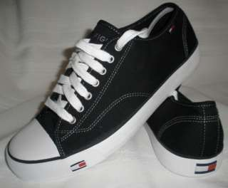 NEW TOMMY HILFIGER MENS SHOES sneakers black 13