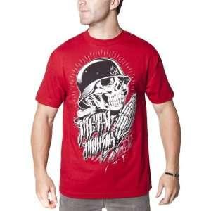 Metal Mulisha Demand Mens Short Sleeve Fashion T Shirt/Tee w/ Free B