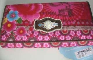 PIP Studio L Wallet Portmonee Geldbörse Börse pink Blumen ca