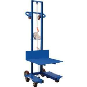 Vestil Steel Lite Load Lift with Winch   20in.L x 24in.W, Model# LLW