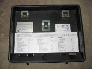 BMW E34 Fuse Box Cover 525i 535i M5 92 93 94