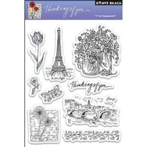 Penny Black Clear Stamp 5X7.5 Sheet
