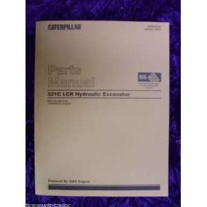 Caterpillar 321C LCR Hydraulic Excavator OEM Parts Manual: Caterpillar