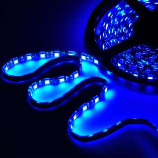5M 16FT 300 LED 5050 SMD Flexible LED Light Strip 12V Blue