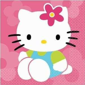 Hello Kitty Flower Fun Lunch Napkins 16ct Toys & Games