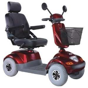 Heartway Medical Products PF1 Frontier Power Scooter   Red