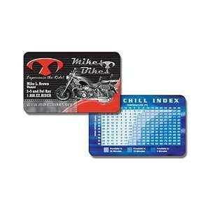 2200PX    Extra Thick Laminated Plastic Petite Wallet Card
