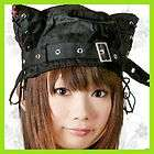 Black Classic Flowered Wool Bucket Cloche Hat HJ1683 items in white