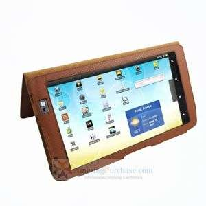 Premium PU Leather Cover Case Pouch Skin For Archos 101 Internet tab