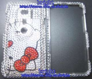hello Kitty Bling Full Case For Sprint HTC EVO 3D #14