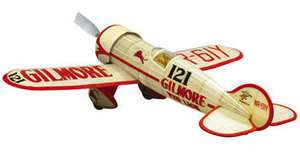Red Lion Racer Gilmore #402 Dumas Balsa Wood Model Airplane Kit