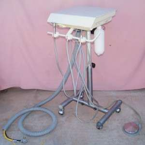 Adec 2503 Dentist Dental Assistant Hygienist Mobile Delivery Unit Cart