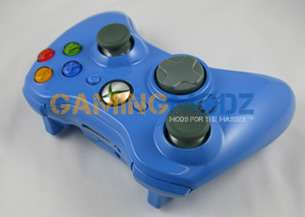 Baby Blue XBOX 360 WIRELESS CONTROLLER