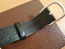 HERMES Goat Leather Purse Luggage Bag Tag New wTAG $410