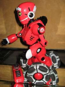 WOWWEE TRI BOT TALKING REMOTE CONTROL ROBOT TOY 2007 WOWWEE GROUP