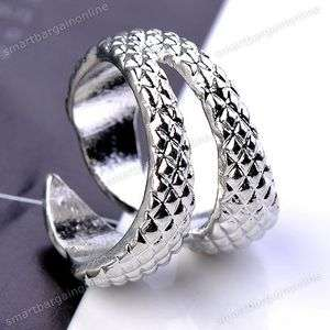Ancient Silver Tone Punk Gothic Spike Eagle Claw Ring S6 Fashion