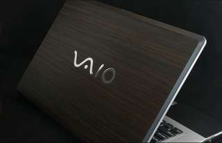 Sony VAIO FW Series Laptop Cover Skin   Walnut Wood