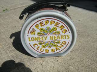 Beatles Sgt Peppers Lonely Hearts Club Band Kick Drum Tin