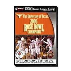 2005 ROSE BOWL TEXAS LONGHORNS SEALED GAME DVD