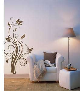 Wall Quote Wall Decal Vinyl Sticker Home Decor  Floral