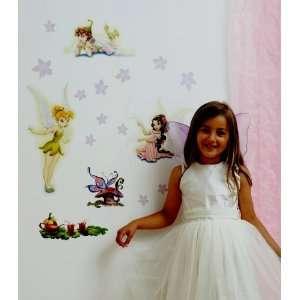 FunToSee 21 Wandsticker Disney Fairies Tinkerbell