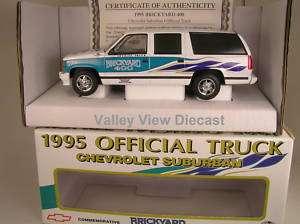 1995 BRICKYARD 400 OFFICIAL TRUCK   CHEVY SUBURBAN