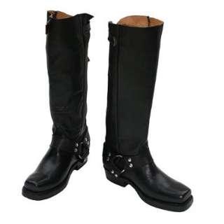 Mezcalero Damen Biker Boots kniehoch  Schuhe & Handtaschen