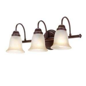 Commercial Electric Nutmeg 3 Light Vanity EFH1393M