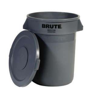 Rubbermaid Trash Can  The Home Depot   Model FG8632 92 GRA