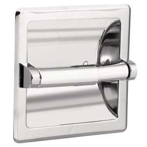 MOEN Recessed Toilet Tissue Holder in Chrome With Matching Roller 2575