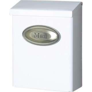 Gibraltar Mailboxes Designer Lockable Wall Mount Mailbox DVKW0000 at