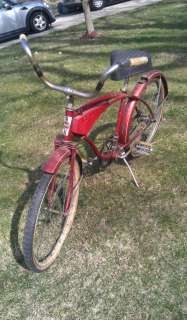 Vintage Western Flyer Mens Bike Bicycle. Complete bike. 1950s