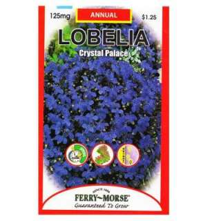 Ferry Morse Lobelia Crystal Palace Seed 8042