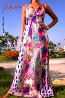 NEW Evening Summer Sexy Women Evening Long Maxi Dress Plus Size M XXXL