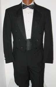 Boys Black Halloween Costume Theatrical Dracula Bargain Cheap Tuxedo
