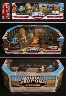 NEW Star Wars Galactic Heroes JABBAS SAIL BARGE   MAX REBO Droopy