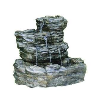 Bubbling Rock Fountain On Popscreen