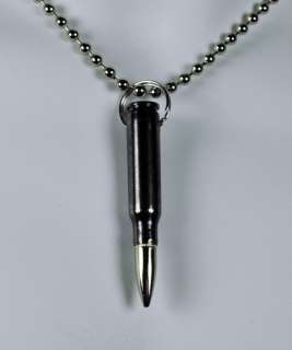 BLACK BULLET NECKLACE 0.308 MM FULL HEAVY METAL JACKET