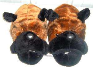 DOG/GREAT DANE MEN PLUSH HOUSE SLIPPER/SHOE L11/12 N