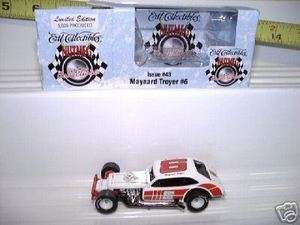 ERTL NUTMEG MAYNARD TROYER 1/64 PINTO MODIFIED RACE CAR NEW MINT IN
