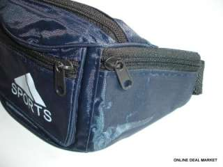 SPORTS WAIST PACK FANNY BAG POUCH BELT TRAVEL HIP ZIPPER POCKET 1