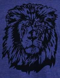 Vintage LION HEAD American Apparel TR401 Track T Shirt