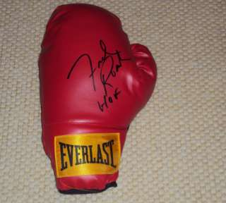 FREDDIE ROACH SIGNED BOXING GLOVE EVERLAST PACMAN COA
