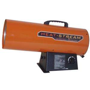125,000 BTU Forced Air Propane Heater HS 125V GFA