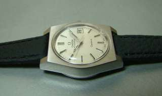 SUPERB VINTAGE OMEGA AUTOMATIC GENEVE DATE SWISS WRIST WATCH OLD USED