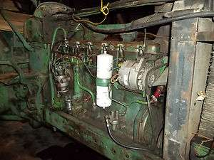 JOHN DEERE 4020 DIESEL ENGINE COMPLETE FROM FAN TO FLYWHEEL