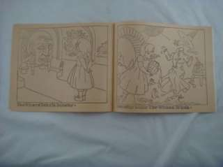 1955 Swifts Peanut Butter Wizard Oz Coloring Book Vtg