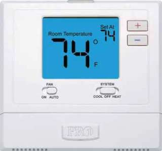 T725 Heat Pump Programmable   Pro1 / Rheem / Protech 1H/1C Thermostat