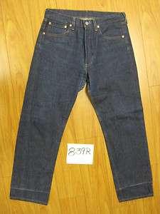 vintage levis blue 501 button fly USA jeans 33x31 839R